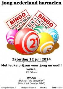 Bingo Poster 2014