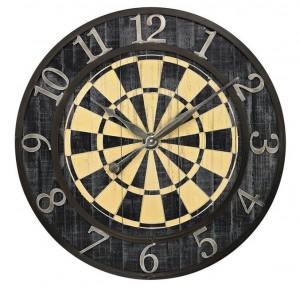 Dartbord-klok