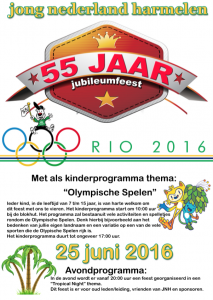 Jubileum Algemeen 2016